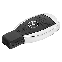 Change Mercedes key battery
