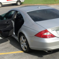2007 CLS550 silver img5
