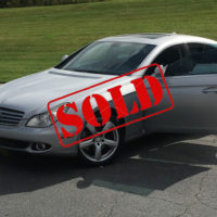 2007 CLS550 silver sold
