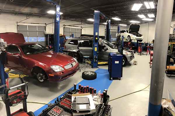Mercedes Repair Shop Atlanta